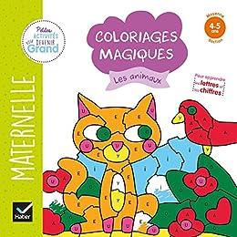 Amazon Com Coloriages Magiques Les Animaux Ms Petites