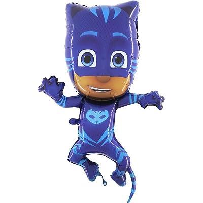 "PJ Masks - 36"" Foil Balloon - Catboy: Toys & Games"