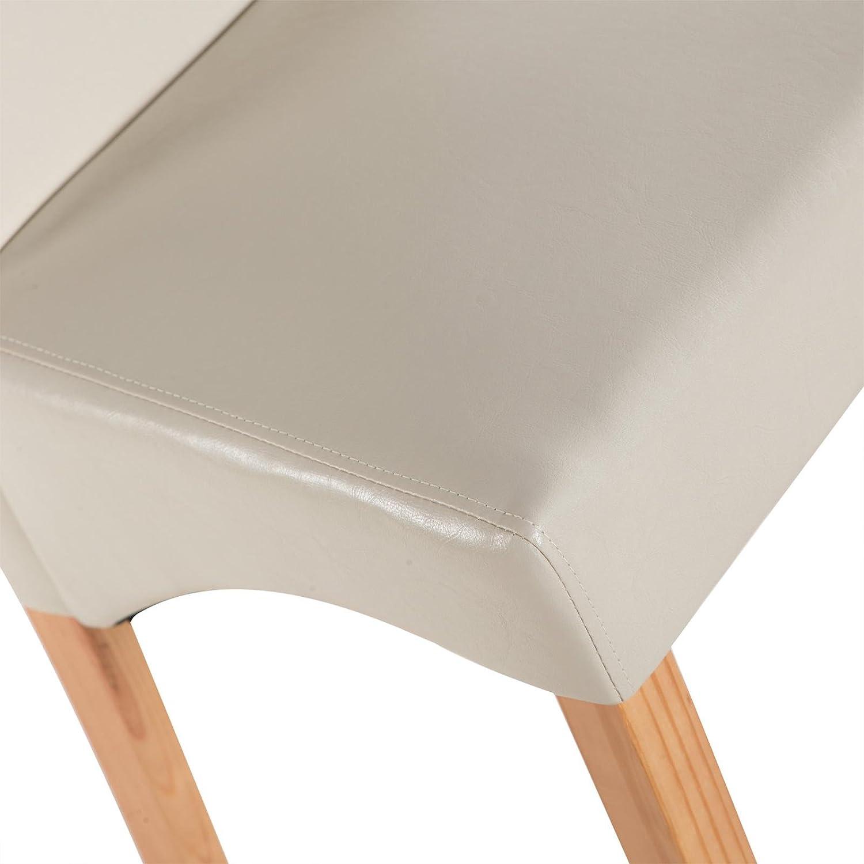 MACO Import 5Sterne Küchenstühle 2er Set Esszimmerstühle ...