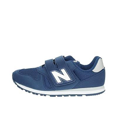 revendeur 2eb62 e1f2d New Balance YV373MT Sneakers Garçon Bleu Clair 28½