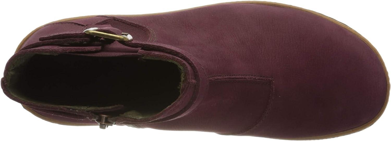 El Naturalista Damen N5133 Kurzschaft Stiefel Rot Rioja 000