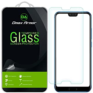 Huawei Honor 10 Screen Protector, [2-Pack] Dmax Armor Tempered Glass for Huawei Honor 10 with Lifetime Replacement