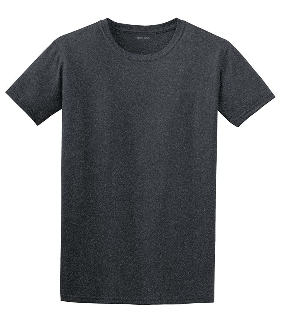b1e4d2a01d60 Joe's USA Lightweight Soft Cotton T-Shirts in 30 Colors at Amazon Men's  Clothing store: