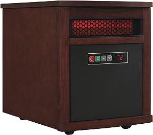 Duraflame 9HM8101-C299 Portable Electric Infrared Quartz Heater, Cherry