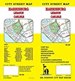Harrisburg / Lebanon / Carlisle, Pennsylvania Street Map