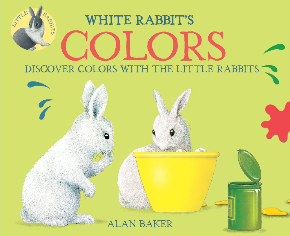 Download White Rabbit's Color Book (Turtleback School & Library Binding Edition) (Little Rabbit Books) ebook