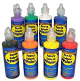 Fancy Fabric Paint Set (8 pc)