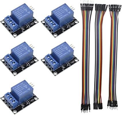 KeeYees 5pcs 1 Channel 5V Relay Module Board Shield KY-019 LED Indicator on arduino motor, arduino switch, arduino thermostat, arduino sensors, arduino starter kit, arduino thermistor, arduino transistor, arduino car, arduino program, arduino display, arduino thermocouple, arduino radar, arduino computer, arduino schematic, arduino blink, arduino breadboard, arduino circuit, arduino garden, arduino solenoid, arduino pins,