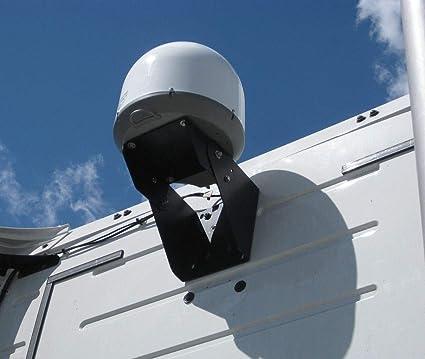 Truck Satellite... Winegard MT-SM10 Semi Truck Satellite Antenna Rear Cab Mount