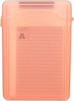 DyNamic 3,5 Pulgadas A Prueba De Polvo IDE Sata HDD Ssd Disco Duro Caja De Almacenamiento: Amazon.es: Electrónica