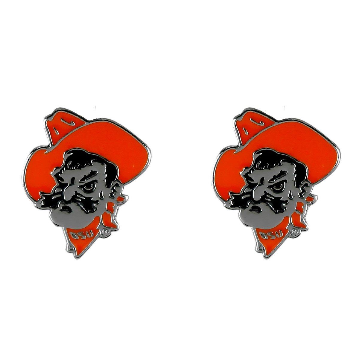 SANDOL Oklahoma State Cowboys Logo Stud Earrings