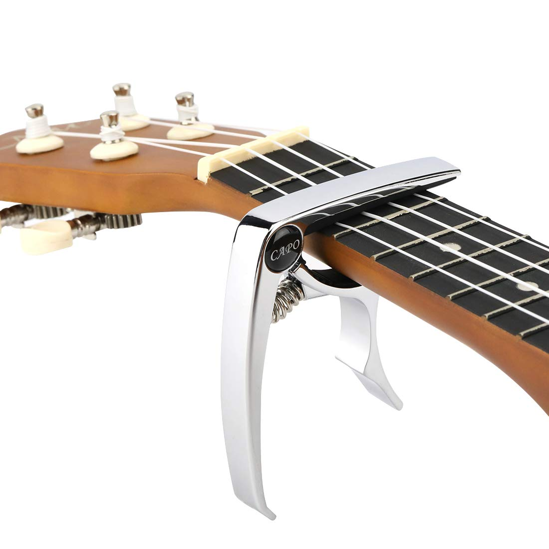 Hidear H-18 Capo color plateado Cejilla para guitarra ac/ústica y el/éctrica