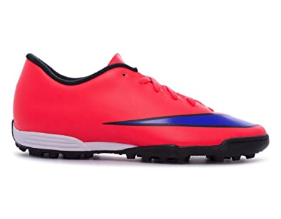 2054abd8370 Nike Mens Mercurial Vortex Astro Turf Trainers Sports Football Shoes  Footwear Crimson Violet UK 6