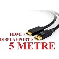 Alfais 5108 Displayport to HDMI Dönüştürücü Adaptor Kablosu 5 Metre