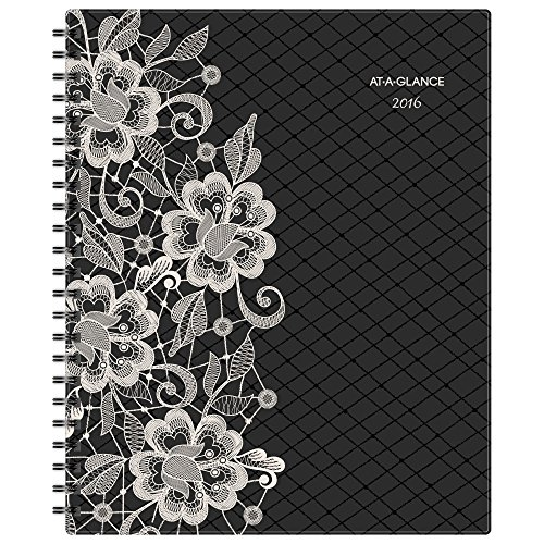 AT-A-GLANCE Professional Monthly Planner 2016, 8.5 x 11 Inches, Lacey (141-900)