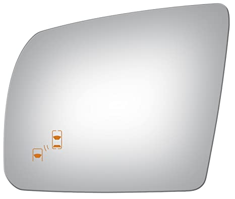 Amazon.com: Burco 4549B Driver Side Power Replacement Mirror Glass with Lasered Holes to use with Factory Blind Spot Detector for 2014-2016 TOYOTA TUNDRA: ...