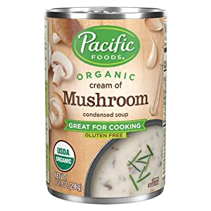 Pacific Foods Organic Cream of Mushroom Condensed Soup, 10.5oz (Pack of 12)