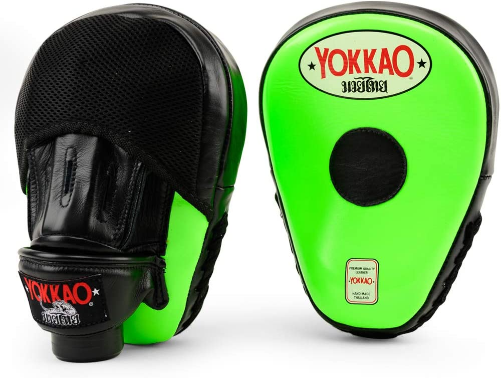 YOKKAO Curved Focus Mitts Many Colors and Styles to Choose from
