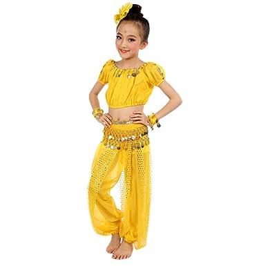 Ularma Los niños Danza del Vientre Trajes Egipto y paño de danzas ...