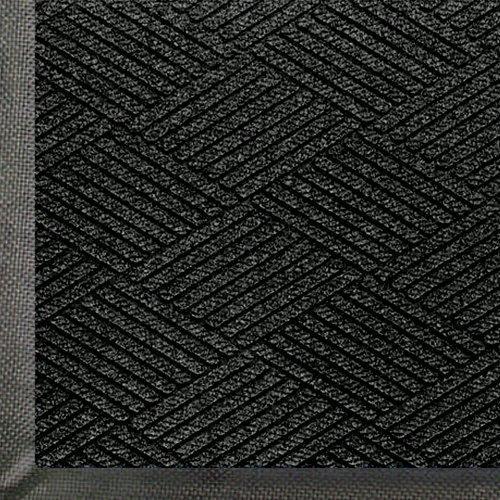 Andersen 2295 WaterHog Eco Premier PET Polyester Fiber Entrance Indoor/Outdoor Floor Mat, SBR Rubber Backing, 4' Length x 3' Width, 3/8