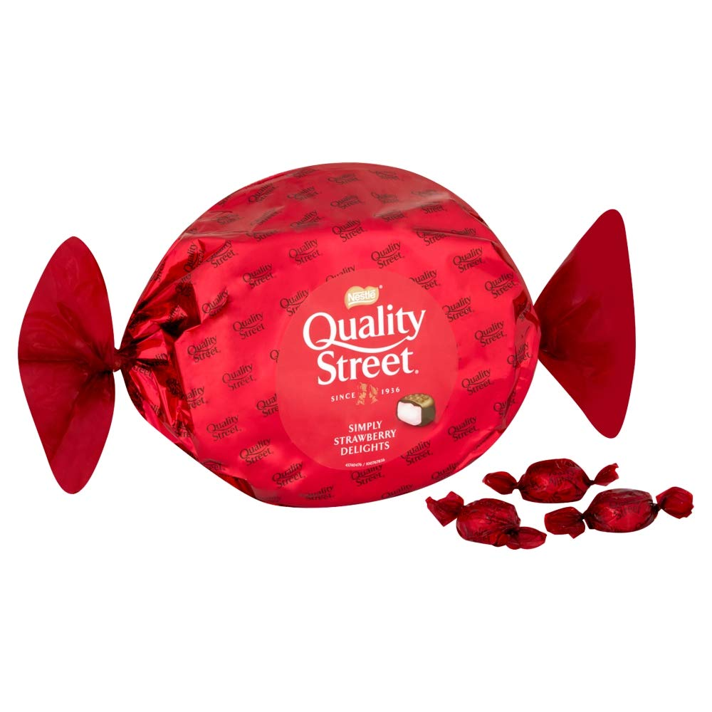 Nestle Quality Street Giant Strawberry, 385g (Pack of 4)