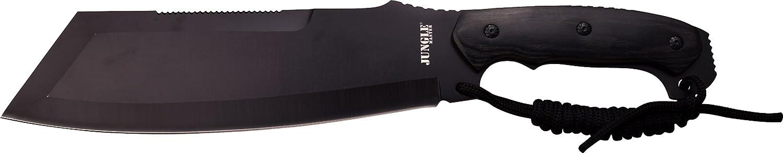 Jungle Master Outdoormesser, Machete, schwarz pakkaholz griff schwarzn lanyard, JUMA-1274 B01MRRSH3O | Günstigen Preis