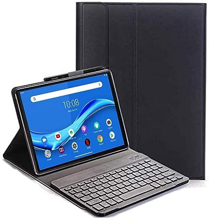 10.3 inch Layout Italiano Pelle PU Custodia con Rimovibile Wireless Keyboard Tastiera per Lenovo Tab M10 plus FHD TB-X606 VOVIPO Tastiera Custodia per Lenovo Tab M10 FHD Plus 2nd Gen