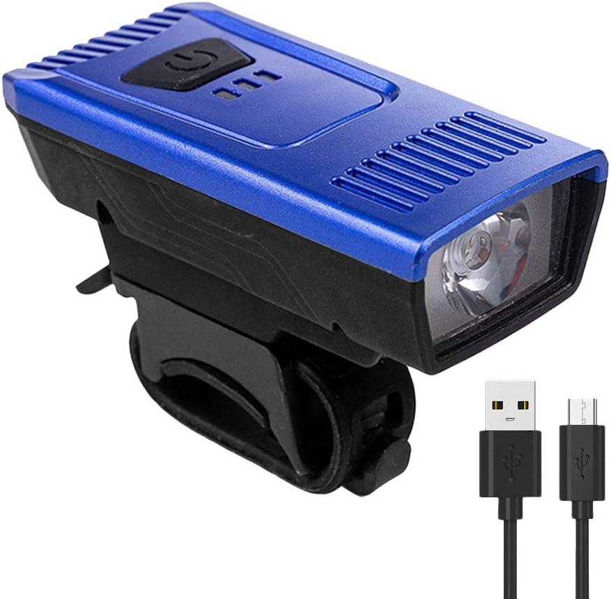 Rennr/äder Scelet Fahrradzubeh/ör Fahrradlicht Hohe Helligkeit Wiederaufladbare USB Fahrradscheinwerfer 4 Leuchtmodi Warnlicht f/ür Mtbs