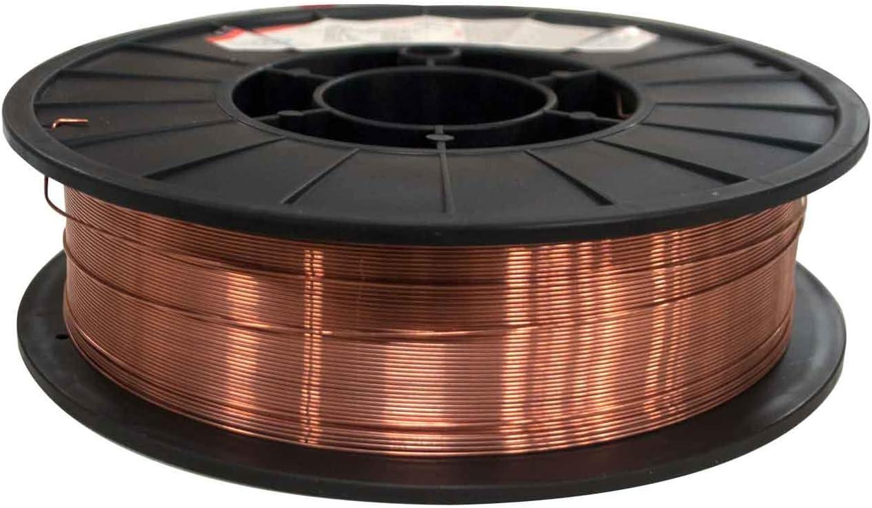 "MIG Welding Wire ER70S-6 Mild Steel Mig 11 Ib .030/"" 2 Rolls 70S6 11Ib Each Roll"
