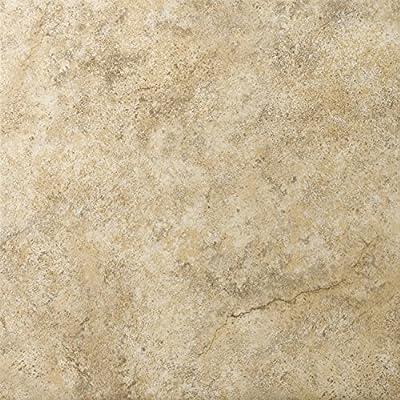 "Emser Tile ""Toledo"" Ceramic Tile, 17"" x 17"", Walnut"