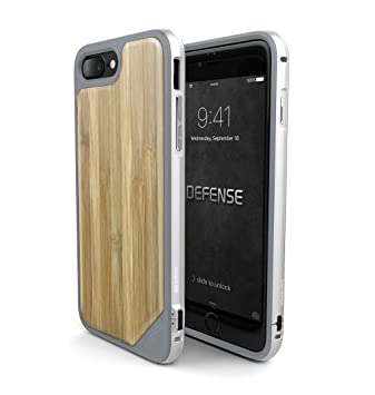 watch a3e60 306bc iPhone 7 Case, X-Doria (Defense Lux) Case for iPhone 7, Dual Protection,  Shock Absorbing, Premium Protective iPhone 7 Case(Bamboo)