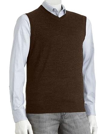 Liz Claiborne's Apt 9 Mens Merino Wool Blend Sweater Vest XLT ...