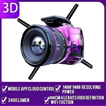 3D holográfica Proyector HD WiFi a Ojo Desnudo Holograma Jugador ...