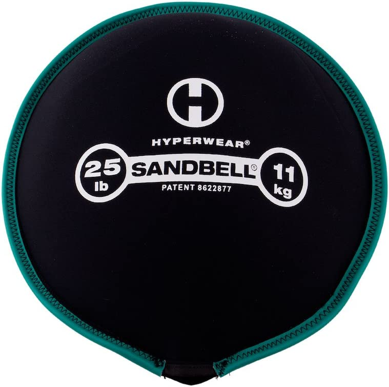 Unfilled HYPERWEAR SandBell Neoprene Sandbag Free Weight
