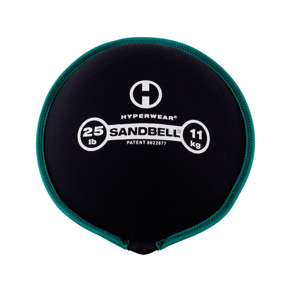 Hyperwear SandBell Sandbag Training Free Weight (Pre-Filled) (25)