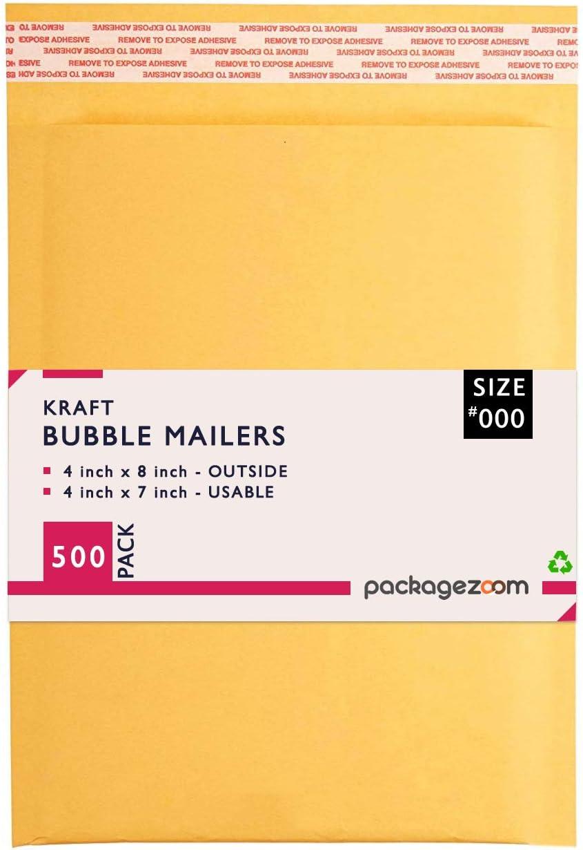 "#5 10.5x16/"" KRAFT BUBBLE MAILER PADDED ENVELOPES-200ct"