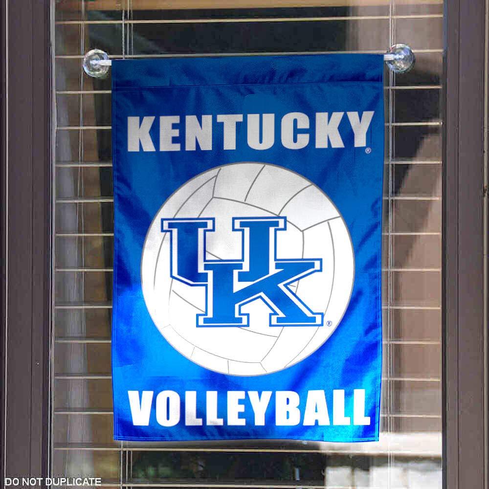 Kentucky Wildcats Volleyball Garden Flag and Yard Banner