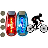 LED Safety Light for Runners, Clip Collar for Dog Walking at Night, use on Bikes