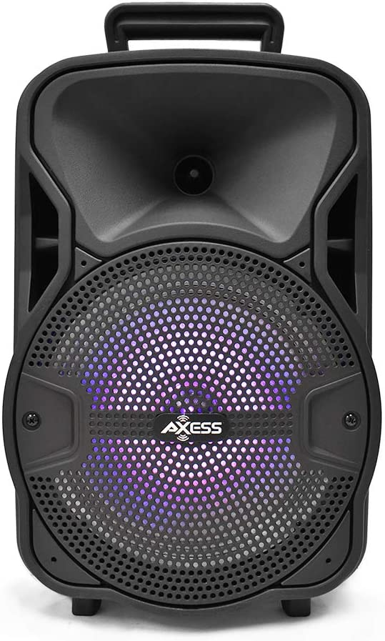 """Axess 8"""" PABT6052 Portable Bluetooth Speaker at Cheapest Price"""