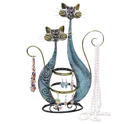 Hidecor - Organizador de joyas para gatos, soporte para ...