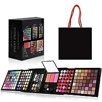 SSXY Makeup Set 177 Colors Eye Shadow Glitter Powder Concealer Liquid Foundation Eyebrow Pencil Contour Blush Lip Gloss…