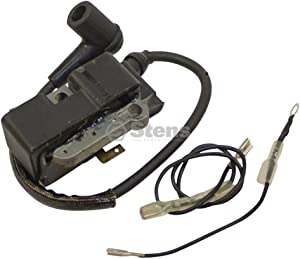 Stens 600-600 Ignition Coil, Replaces Husqvarna: 537162101, 537162104, 537162105, 537165404, 544047001, Includes Spark Plug Boot