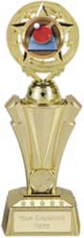 Emblems-Gifts Project X - Trofeo de Tenis de Mesa (plástico, 27 cm)