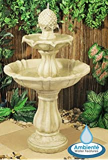 Ambiente Elizabethan 3 Tier Fountain Water Feature