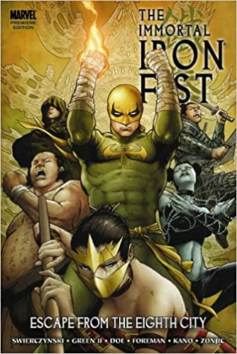 Immortal iron fist 5 especial. Sounds