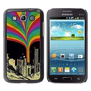 EJOY---Cubierta de la caja de protección la piel dura para el / Samsung Galaxy Win I8550 / --Rainbow Squirt Urbano