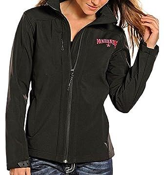 Powder River Women's Black Soft Shell Performance Logo Jacket Medium