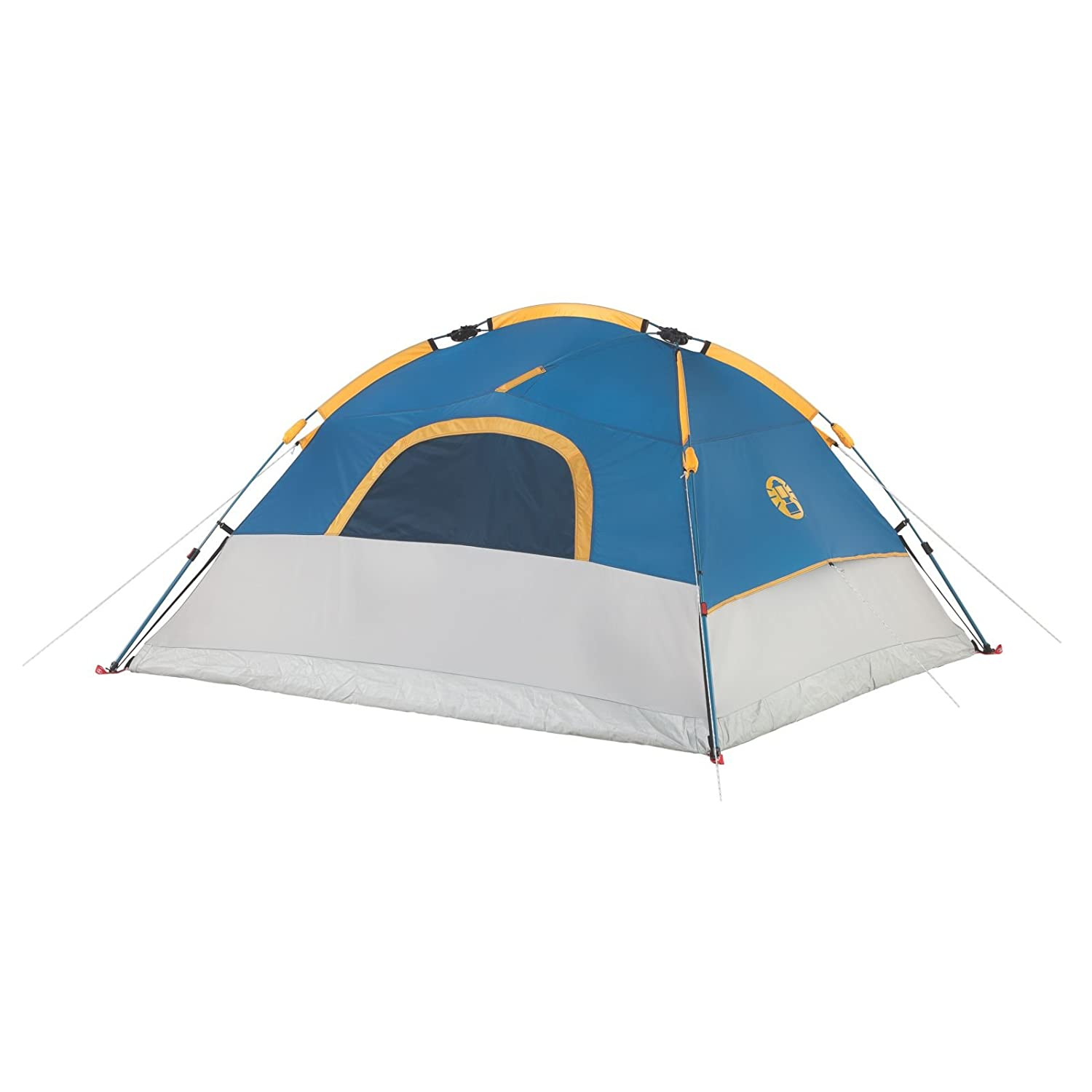 Amazon.com : Coleman Camping 4 Person Flatiron Instant Dome Tent : Sports &  Outdoors