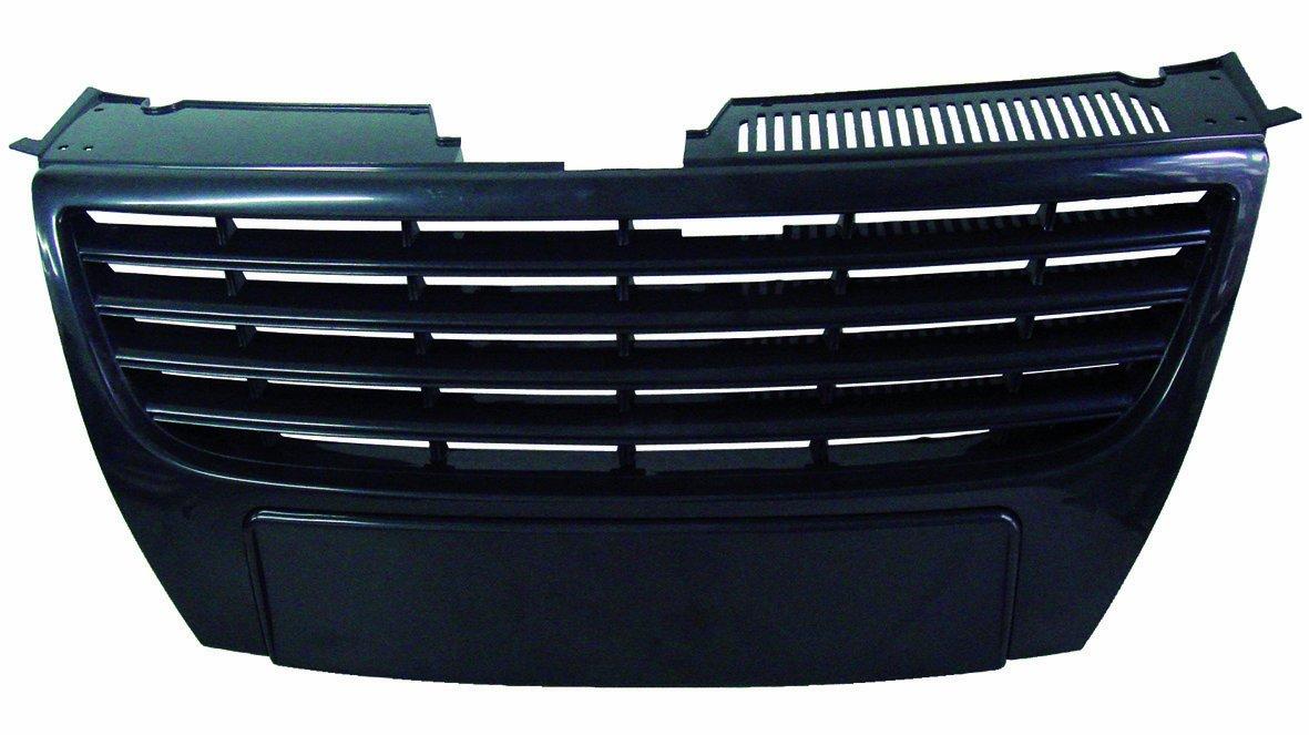 FK Automotive FKSG129-1 - Griglia sportiva in ABS per Passat (tipo 3C), anni di costruzione 05-, senza sensori di parcheggio, colore: Nero