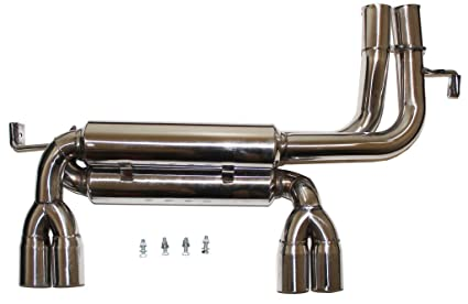 Amazon com: For 01-06 BMW E46 M3 Dual Catback Axle Back